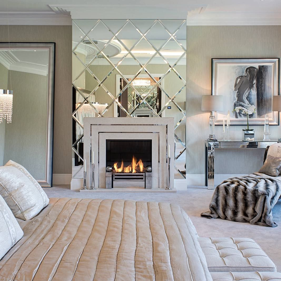 Interior Design u Home Decor on Instagram ucNothing like a fireplace