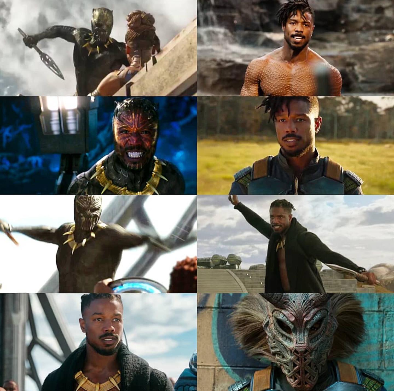 N Jdaka Eric Killmonger Black Panther Marvel