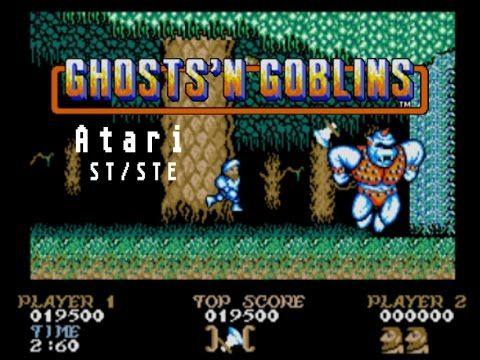 Ghosts'n Goblins - Atari ST (1990) | Jouets années 80 | Jeux
