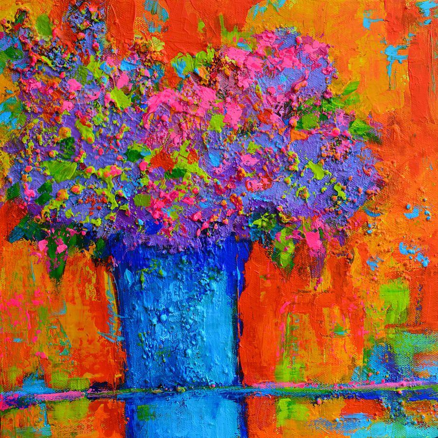 Joyful Perfection Modern Impressionist Art Palette Knife Work By Patricia Awapara Impressionist Art Art Colorful Art