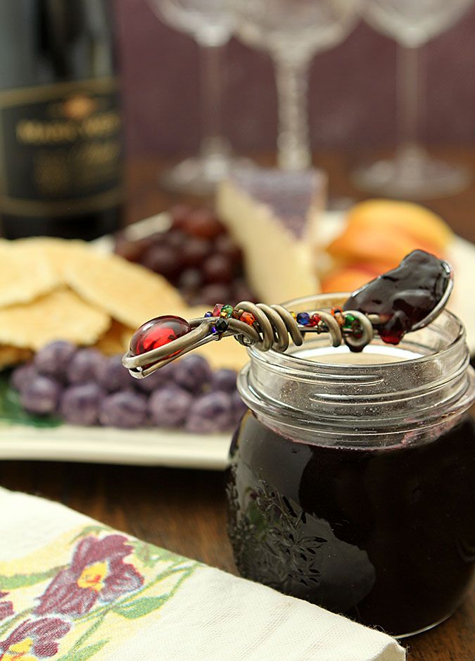 Try something new with a favorite wine and make this Red Wine Jelly. Great with Pinot Noir, Cabernet, Merlot and Chardonnay. Great gift too!