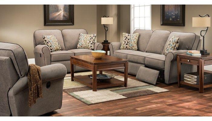 la z boy jenna collection | Jenna Collection - Taupe Reclining Sofa ...