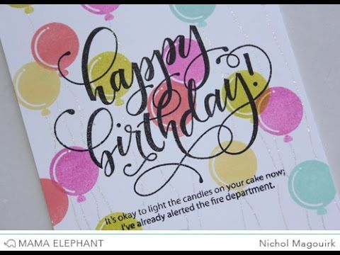 Mama Elephant August 2015 Stampede | Birthday Wishes   YouTube