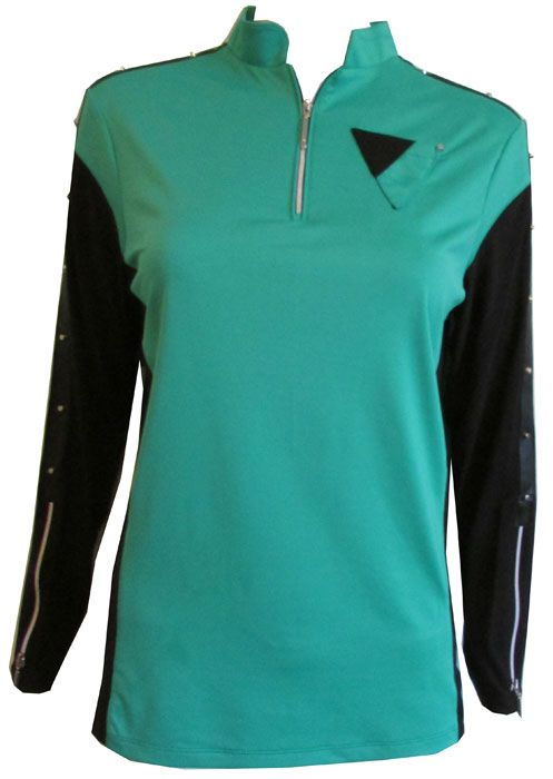 74478ddc1e605 Jamie Sadock Ladies   Plus Size Cooltrex Sunshield Long Sleeve Golf ...