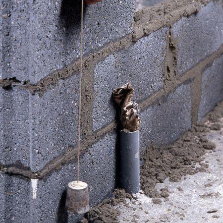 Comment monter une cloison en parpaings? Construction, Pergolas - Enduire Un Mur Exterieur En Parpaing