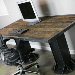 Standing Desks Home Products On Houzz Vintage Industrial Desk