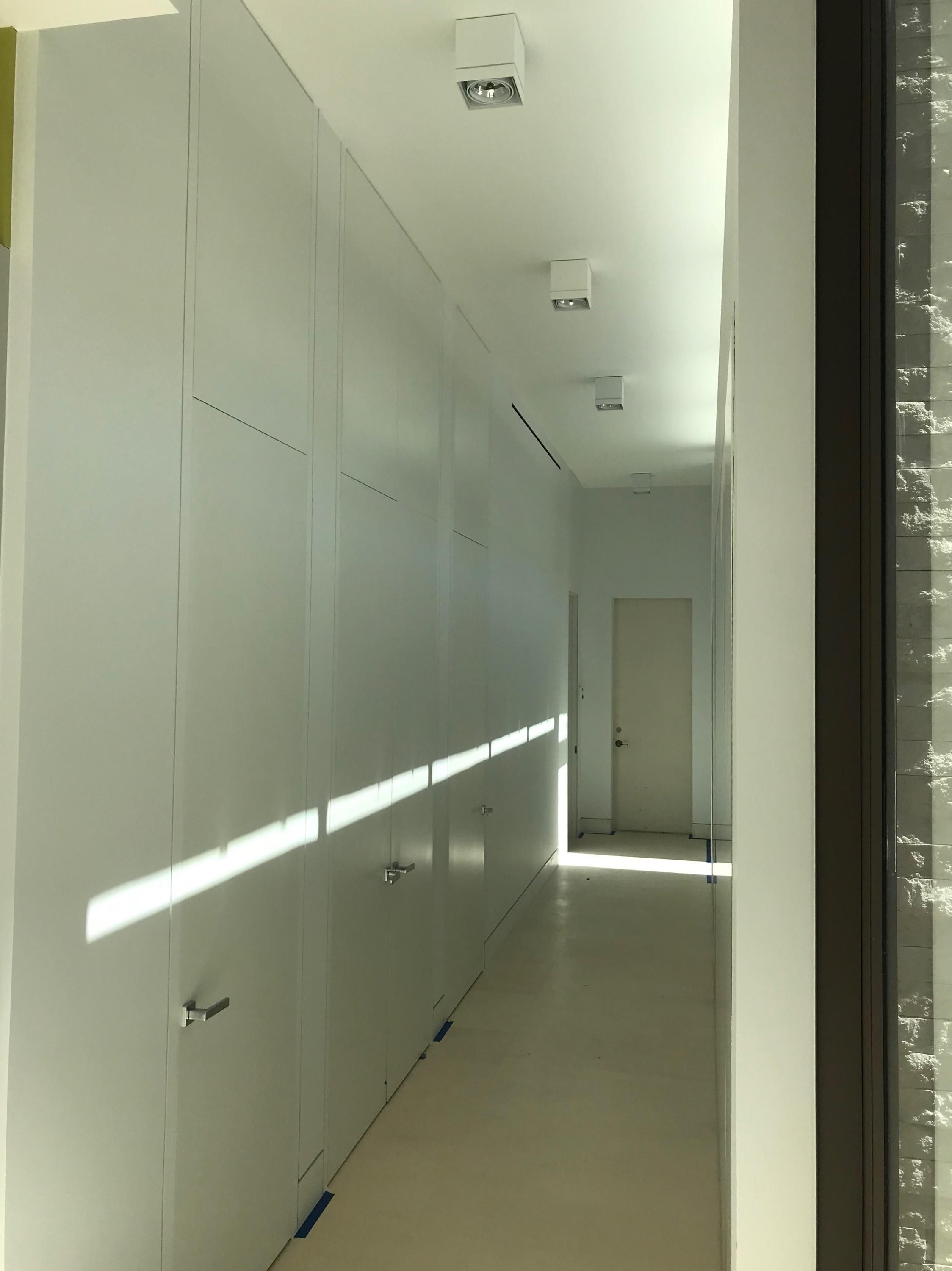Trim Less Doors From Mirage Series Of Contemporary Construction Product By Dorr Houzzer Wall Paneling Doors Custom Wall