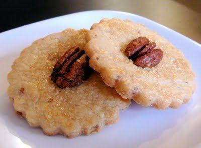 maple pecan shortbread.