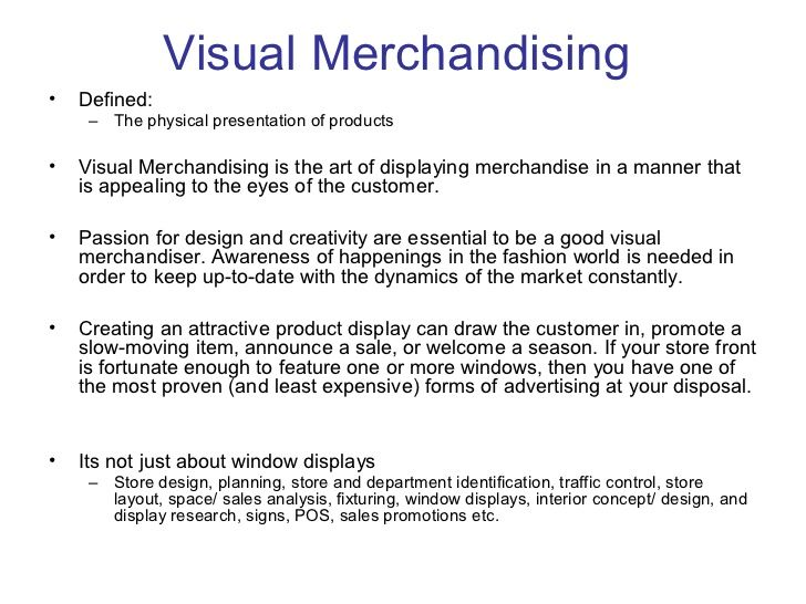 what is visual merchandising - Google Search WHAT IS VISUAL - merchandiser job description
