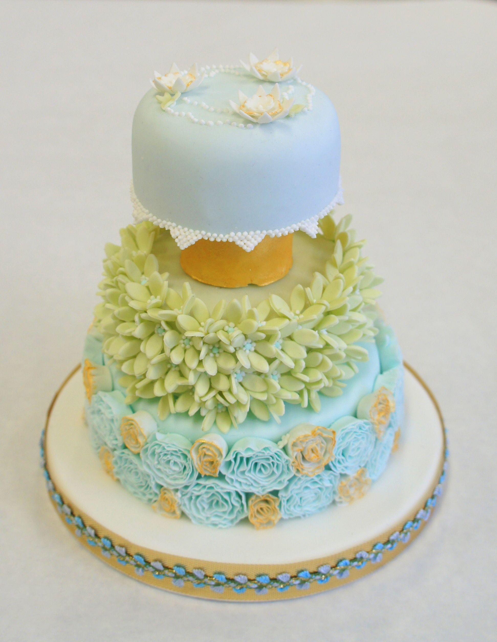 Beautiful Miniature Wedding cake www.byjojo.co.uk   Cakes By JoJo ...