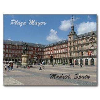 Plaza Mayor de Madrid /Spain