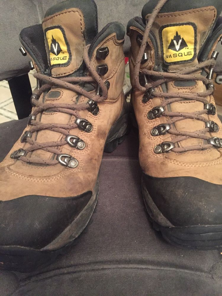 c2dd89e7200 Vasque Wasatch 7166 Gore-tex Brown Nubuck Leather Hiking Trail Boots ...