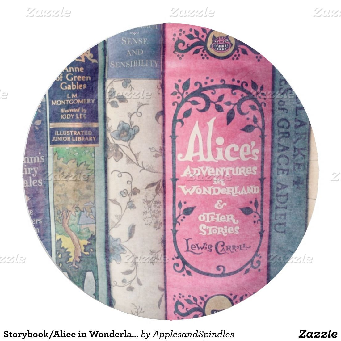 Storybook/Alice in Wonderland Paper Plate  sc 1 st  Pinterest & Storybook/Alice in Wonderland Paper Plate | Alice