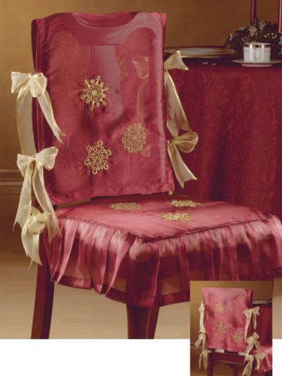 Elegant Dining Chairs  Sewing  Pinterest  Elegant Dining Mesmerizing Large Dining Room Chair Covers Design Inspiration