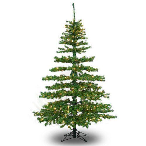 Slim Tiffany Pine - 2135 Classic PVC Tips - 1000 Clear Mini Lights - Barcana  Artificial Christmas Tree >>> More info @… - 10 Ft. X 62 In. - Slim Tiffany Pine - 2135 Classic PVC Tips - 1000