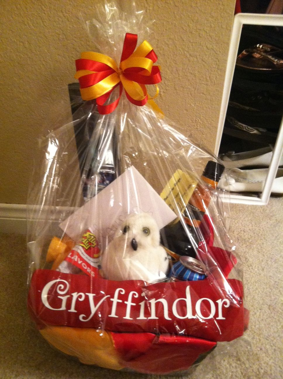 Harry Potter Birthday Gift Basket Complete with replica wand ...