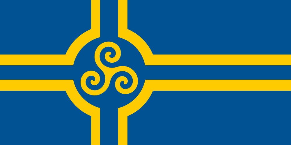 Swedish Celtic Flag Alternate History Flag Design Coat Of Arms