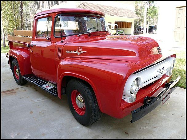 F100 1956 Ford F100 Pickup 272 Ci 4 Speed Pickup Trucks 1956 Ford F100 Ford Pickup Trucks