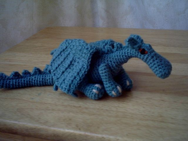 Pattern for a slightly fierce but friendly really Dragon. | crochet ...