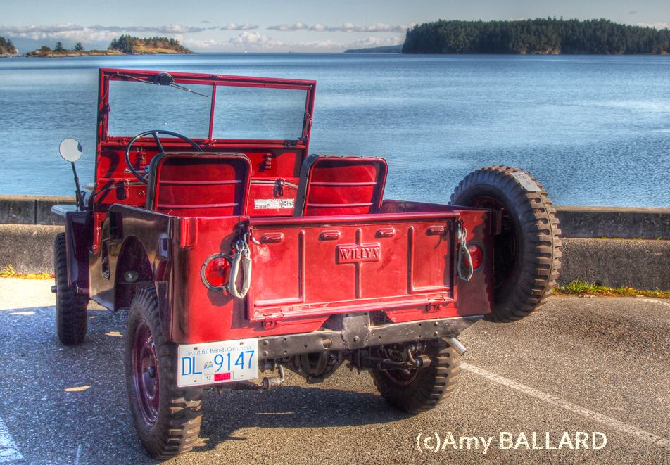 Jim S Fully Restored 1947 Willys Jeep At Departure Bay Jim