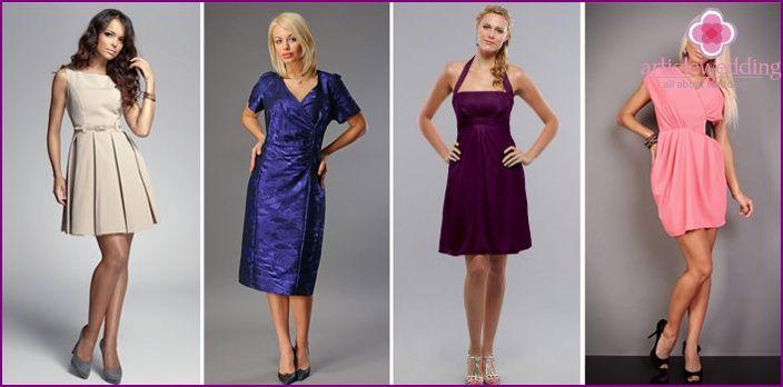 559a61affabd Κομψά φορέματα για ένα γάμο ειδικά για την επιλογή των μητέρων, οι  παράνυμφοι, για