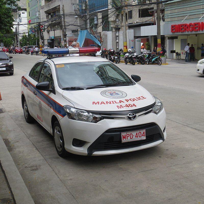 Philippine Police Car Manila City Police cars, Police