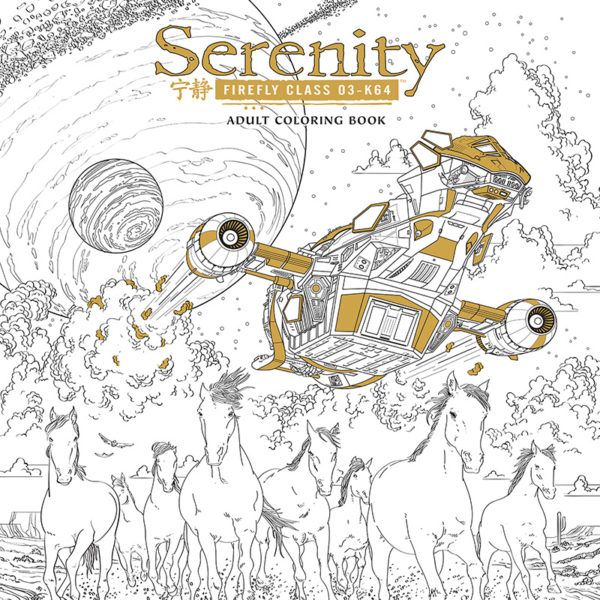 Firefly And Avatar Coloring Books For Adults