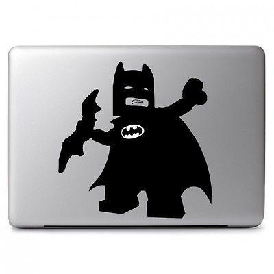 justice league comics lego batman sticker for apple macbook