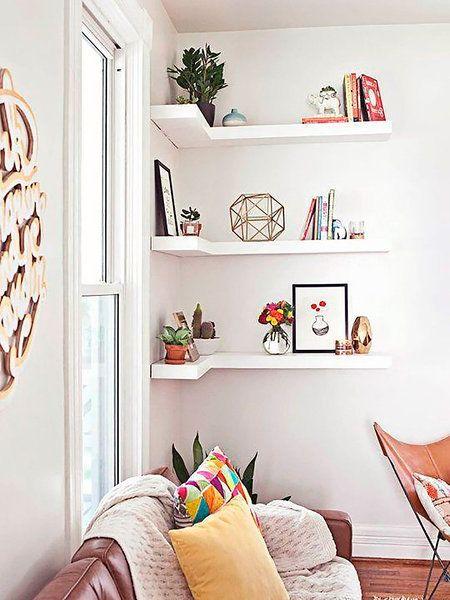 Salones pequeños donde todo es posible | Salón pequeño, Salón y ...