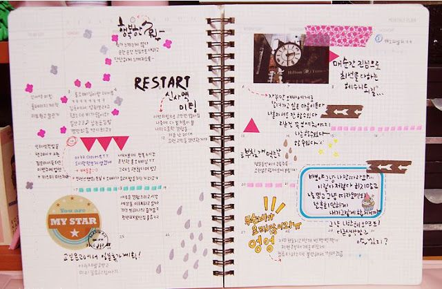 The World Of Mine How To Decorate Your Personal Diary Crafts