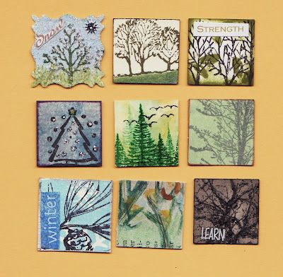 tree stamp inches
