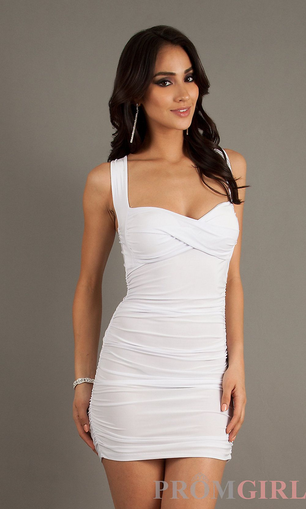 Short Sleeveless Ruched Dress | Sexy, Summer and Shops