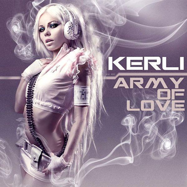 Kerli – Army of Love (single cover art)