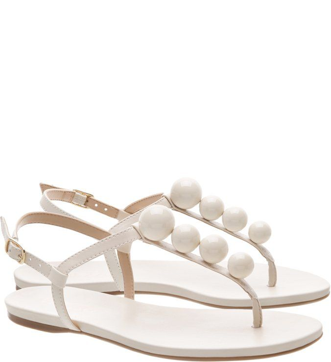 2e8f64f55 Sandália Rasteira Esferas Off White | shoes | Sandalia, Off white ...