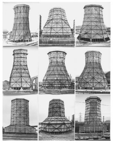 Cooling Towers By Bernd And Hilla Becher Hilla Becher Hilla