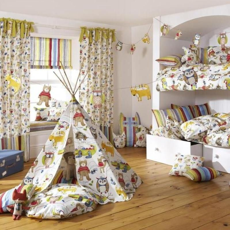 Forest Friends - NEW COLLECTION | Childrens Curtains, Kids ...