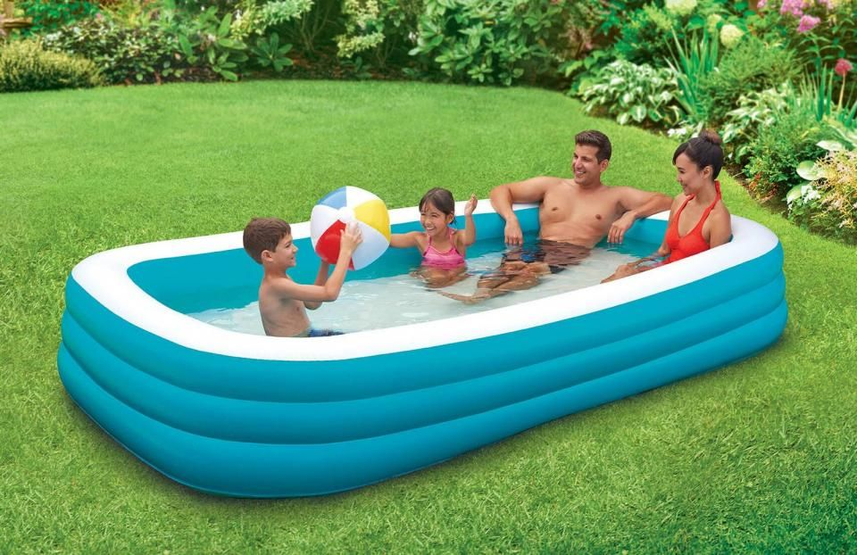 Plastic Garden Pool Make Family Atmosphere More Cheerful Pool
