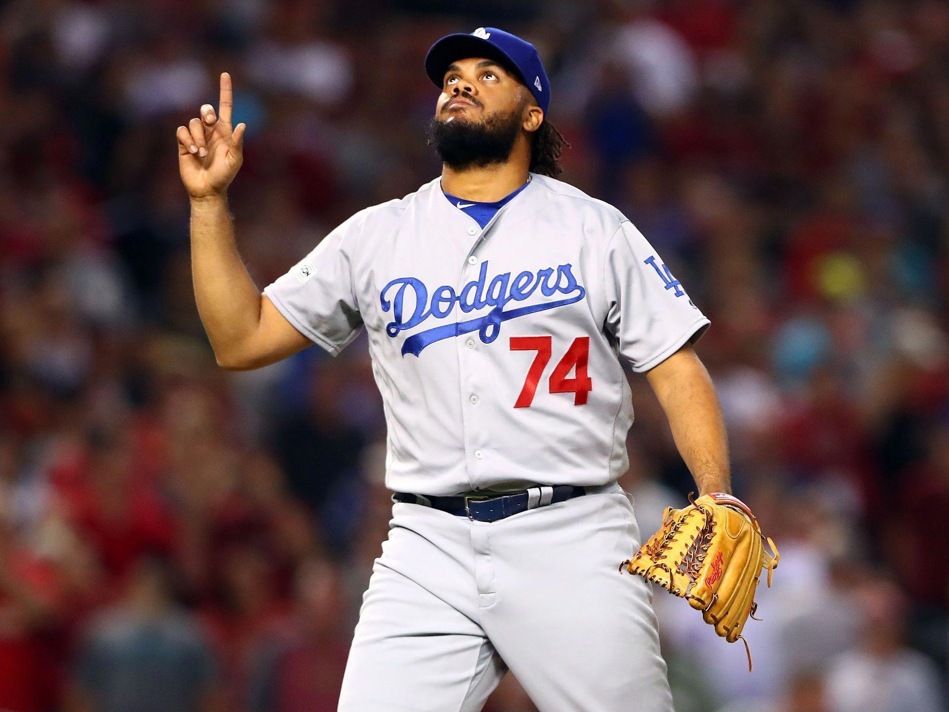 NLDS Game 3 Dodgers at Diamondbacks Dodgers closer