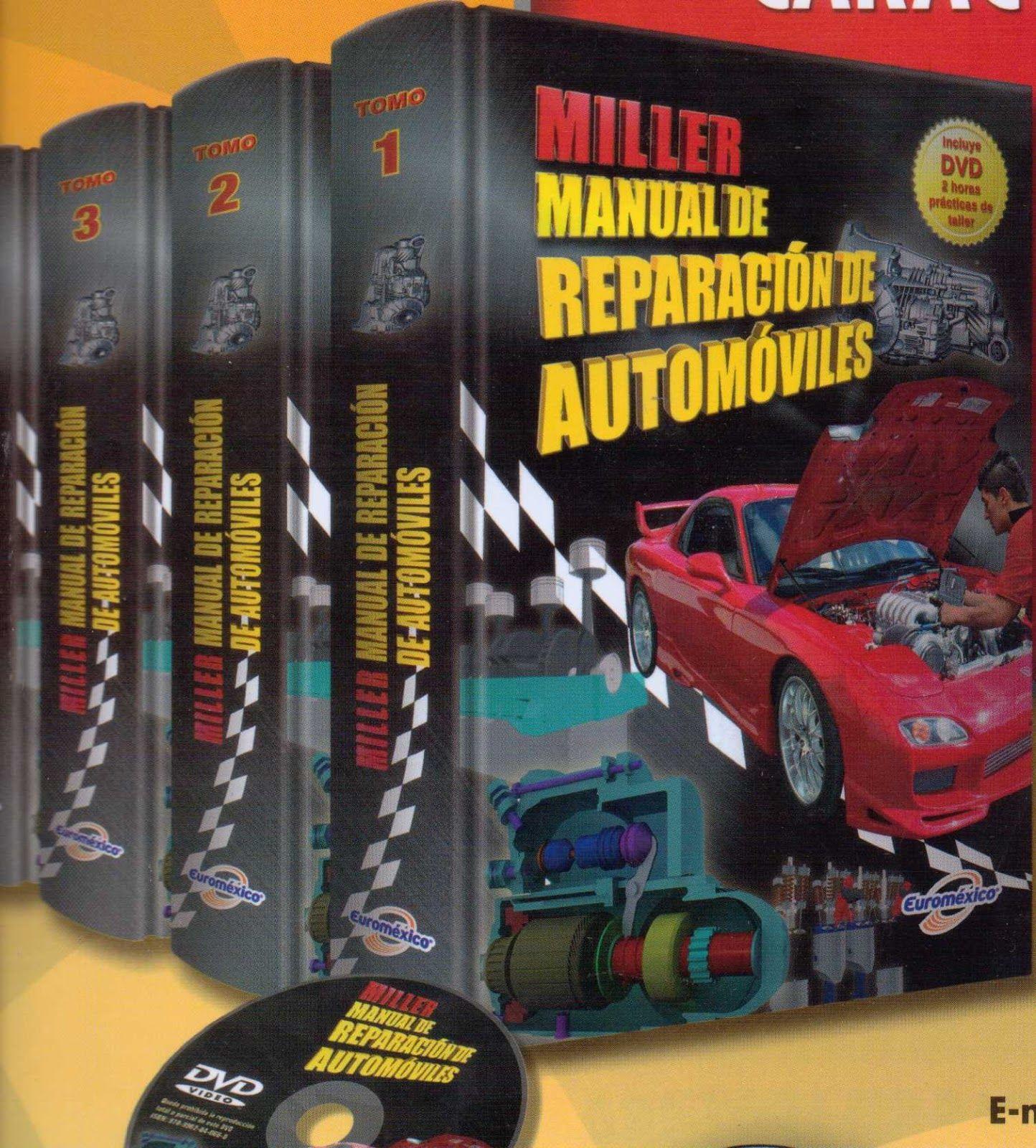 MANUAL DE REPARACIÓN DE AUTOMOVILES Miller Metrología