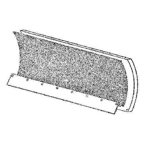S.A.M. Snowplow Shield - Red > Hardware: 9 1/4in. x 3/4in. carriage bolts 9 1/4in. zinc elastic lock nuts Check more at http://farmgardensuperstore.com/product/s-a-m-snowplow-shield-red/