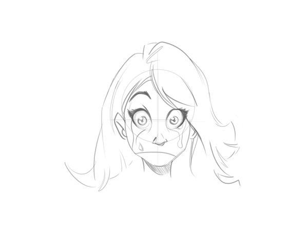 Line Drawing Cartoon Face : Cartoon fundamentals: how to draw a face correctly carlos