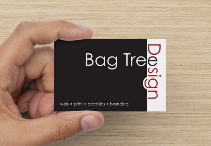 bag tree design print design newcastle my business card designs
