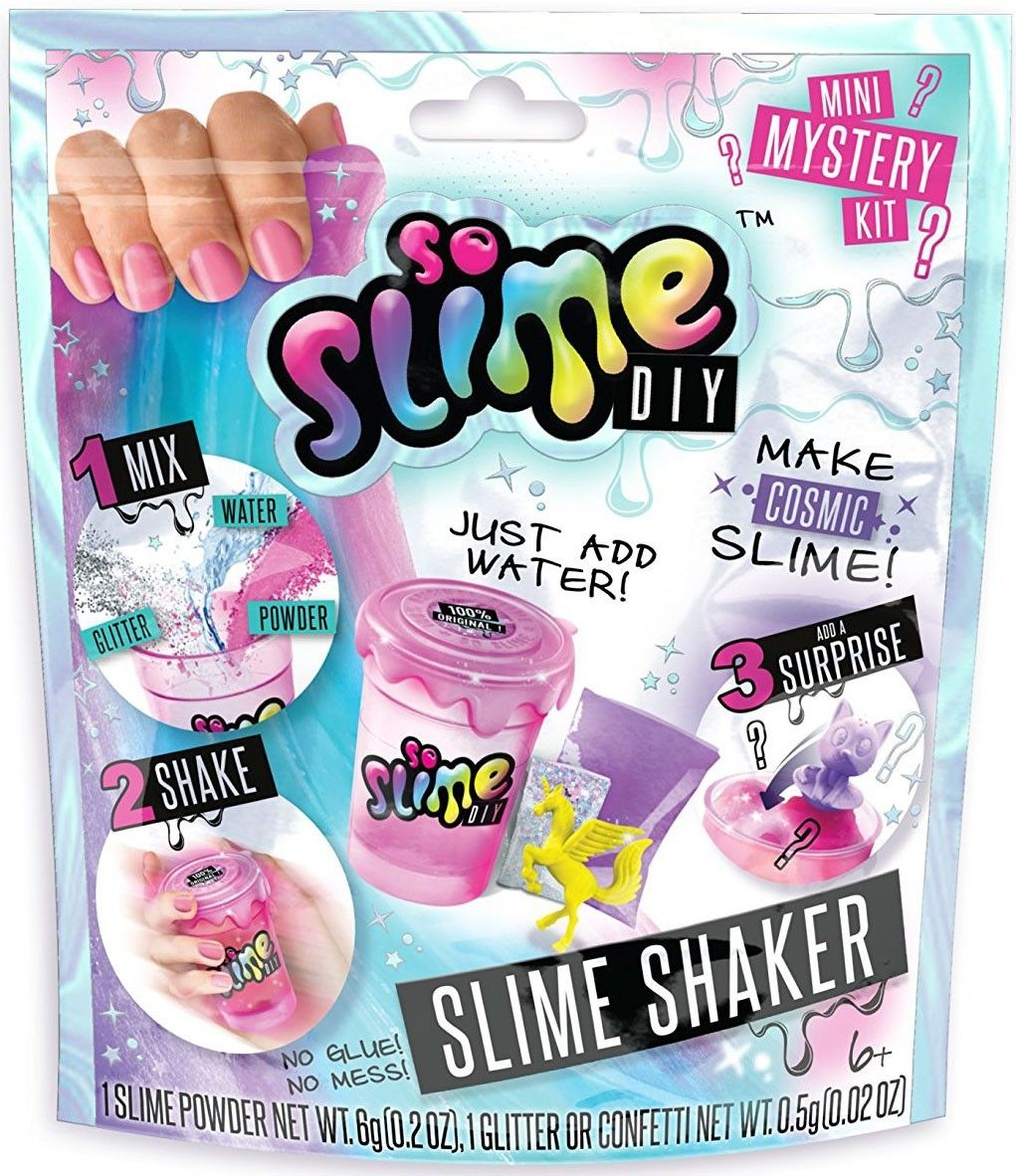So Slime DIY Slime Shaker Mystery Pack Color Change