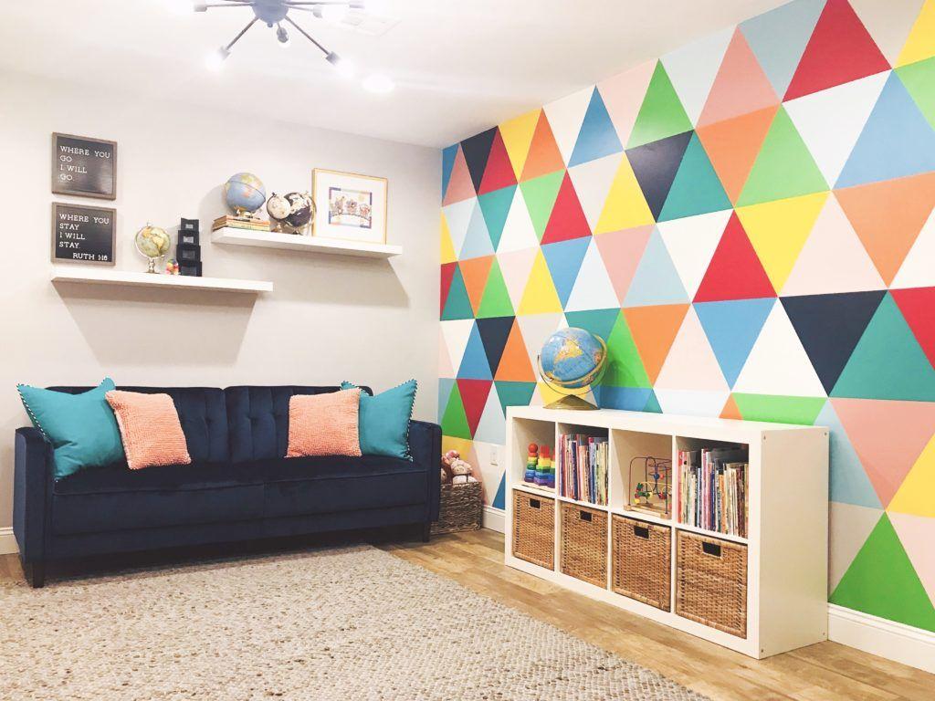 Playful Playroom Project Nursery Kids Room Wall Decor Playroom Wall Playroom Wall Decor