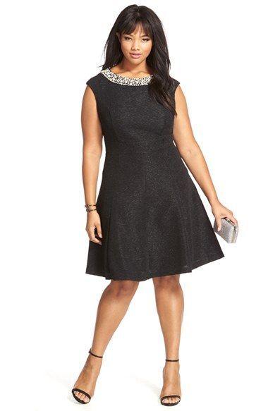 product image 1 | plus sizes fashion | pinterest | fit flare dress