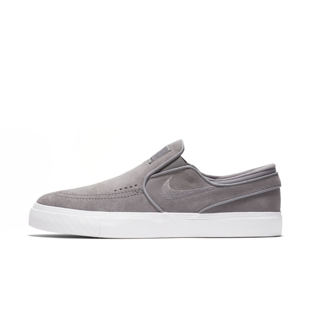 aef9df80d65cd Nike SB Zoom Stefan Janoski Slip-On Men s Skateboarding Shoe Size 11.5  (Gunsmoke)