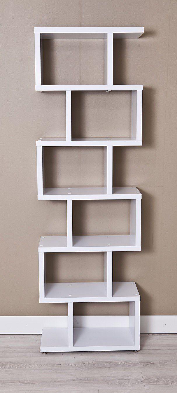 Estanteria Florida 6360 Blanco Decorar Estantería Muebles Para Libros Diseño De Estantería