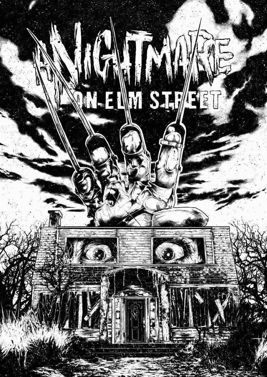 Ramón on in 2020 Horror posters, Nightmare on elm street