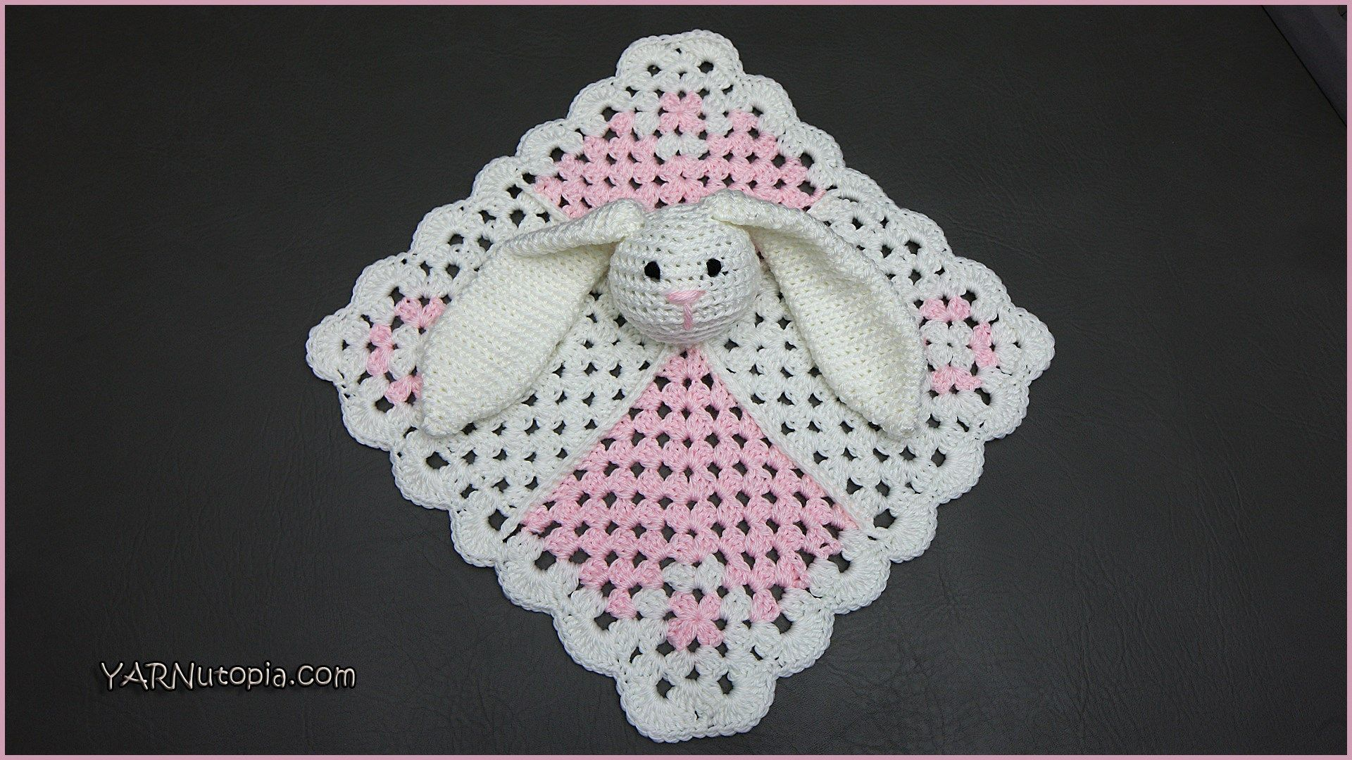 Bunny Lovey   CROCHET: squares and rounds   Pinterest