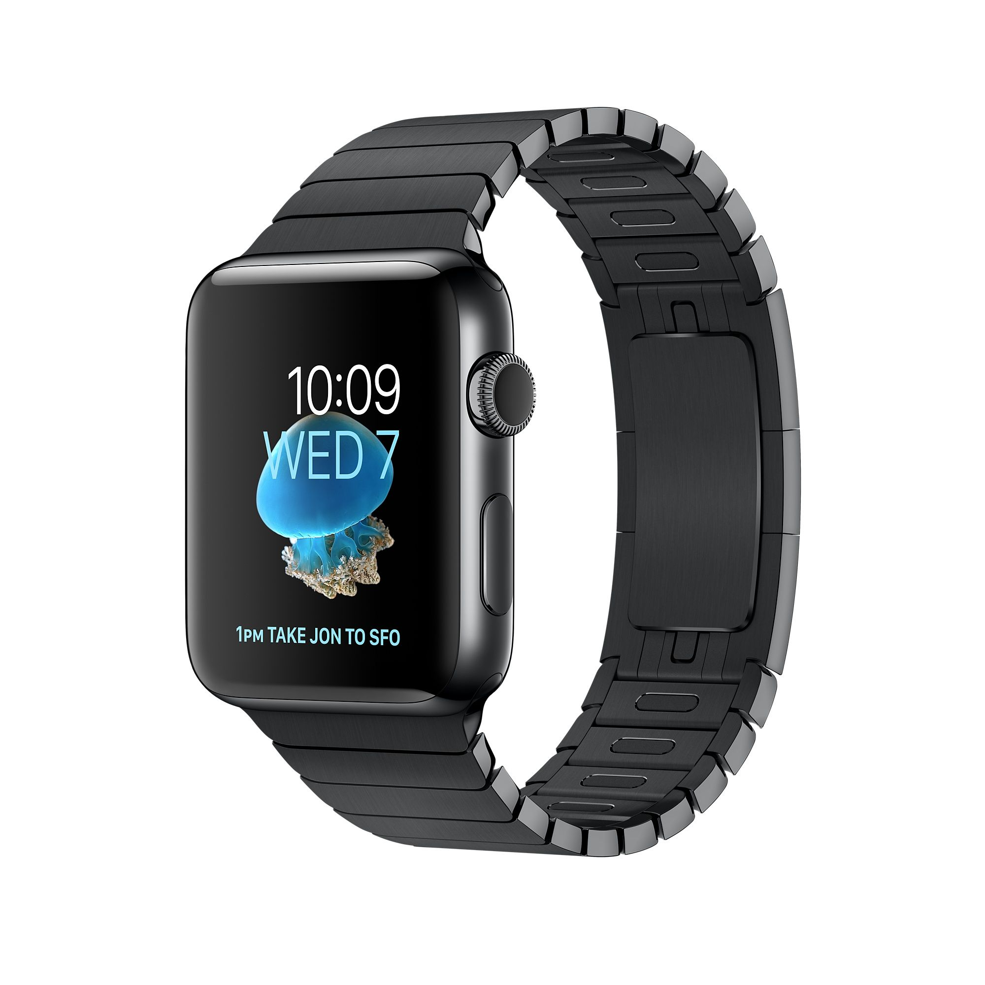 Introducing Apple Watch Series 2 Space Black Stainless Steel In 38mm Or 42mm With Built In Gps And Link Bracel Buy Apple Watch Apple Watch Series 2 Apple Watch
